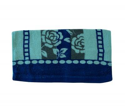 Полотенце кухонное (33x74) Синий цветок