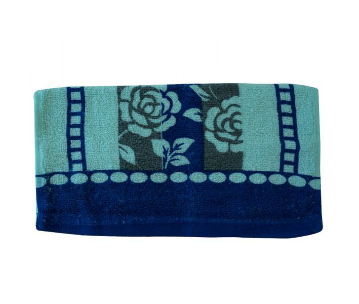 Полотенце кухонное Синий цветок