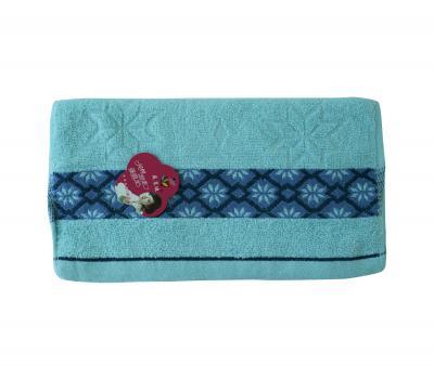 Полотенце кухонное махровое (33x74) Голубой