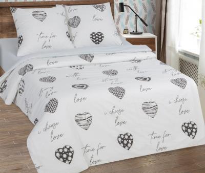Комплект постельного белья Арт-постель поплин Про любовь