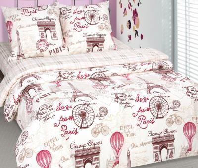 Комплект постельного белья Арт-постель поплин Прогулка по Парижу