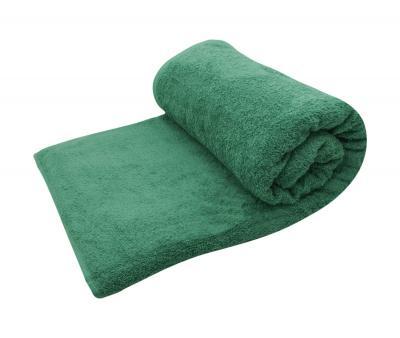 Простыня махровая Ашхабад Темно зеленый