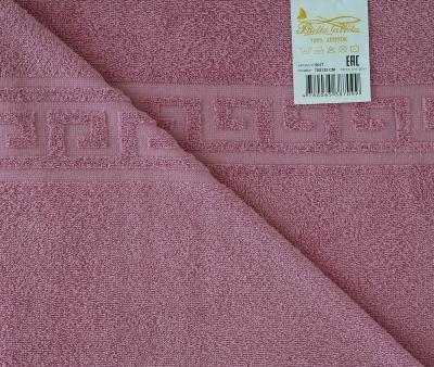 Полотенце Гладкокрашеное Розовый