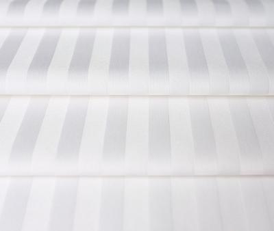 Сатин отбеленный 2x2 см страйп 140 гр 240 см х/б Китай Рулон