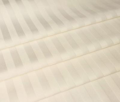 Сатин молочный 1x1 см страйп 150 гр 240 см х/б Китай Рулон