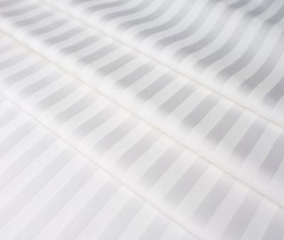 Сатин отбеленный 1x1 см страйп 145 гр 240 см х/б Китай Рулон