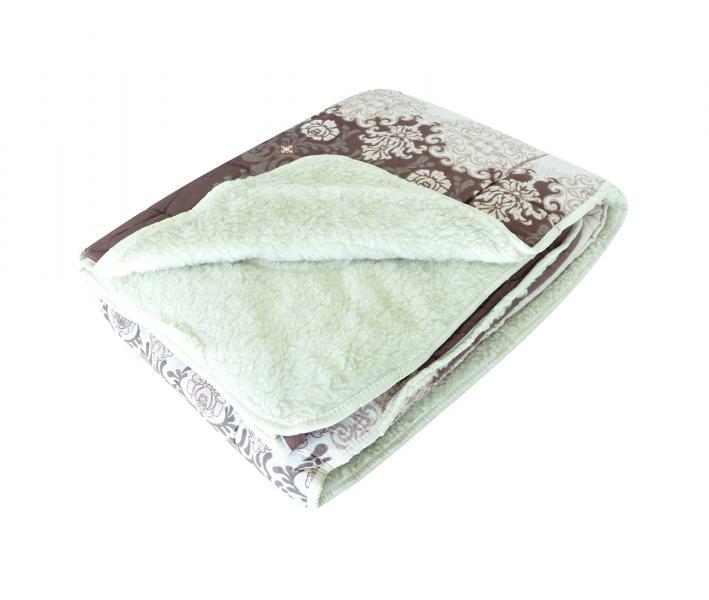 Одеяло Селена Мех в сатине 350 гр Роскошь