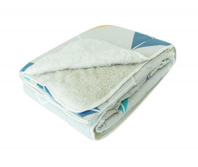 Одеяло Селена Мех в сатине 350 гр Домино