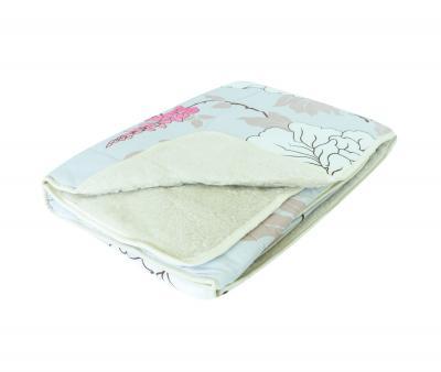 Одеяло Селена Мех в сатине 350 гр Сакура