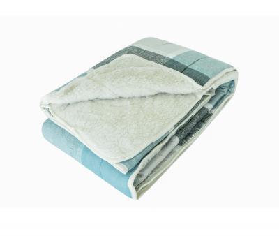 Одеяло Селена Мех в сатине 350 гр Пикник