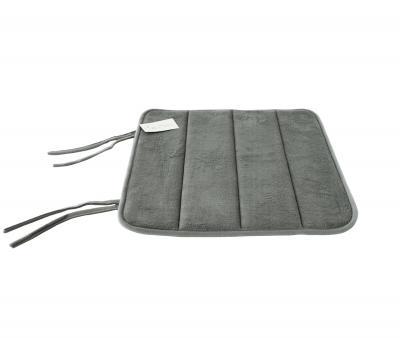 Подушка квадрат с пеной на стул Серый