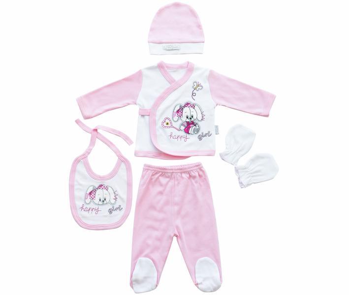 Комплект для новорождённых 5 предметов Ramel Собачка