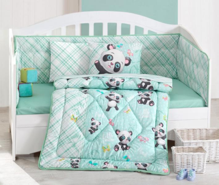 Набоор постельного белья+одеяло+бортик детский
