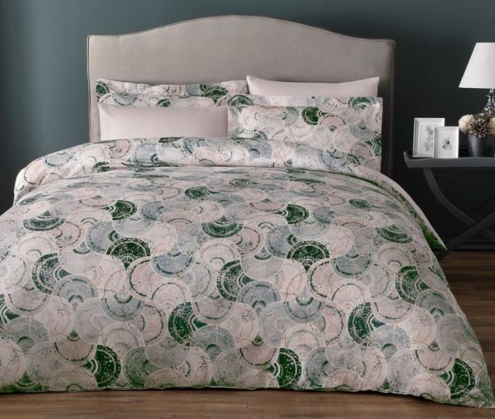 Комплект постельного белья Tivolyo Home Сатин принт Shelly
