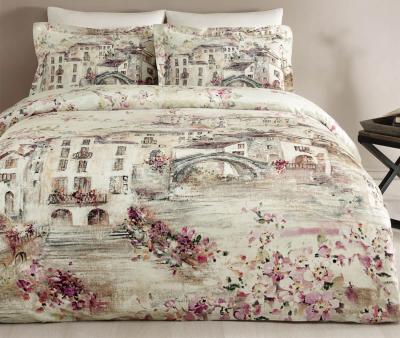 Комплект постельного белья Tivolyo Home Сатин принт Sienna