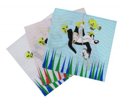 Платок детский Сильвестр и Твитти 10 шт в упаковке