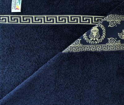 Полотенце махровое Cestepe MEDUSA Тёмно-синий