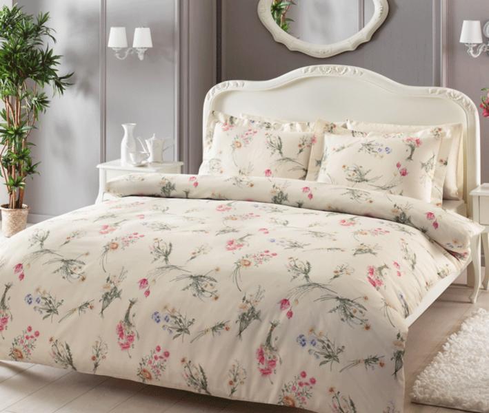 Комплект постельного белья Tivolyo Home Сатин принт Elenore