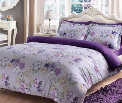 Комплект постельного белья Tivolyo Home Сатин принт Viola