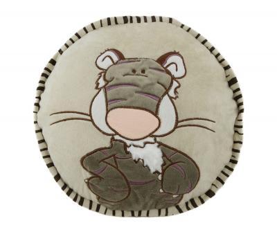 Подушка-игрушка круглая Тигр