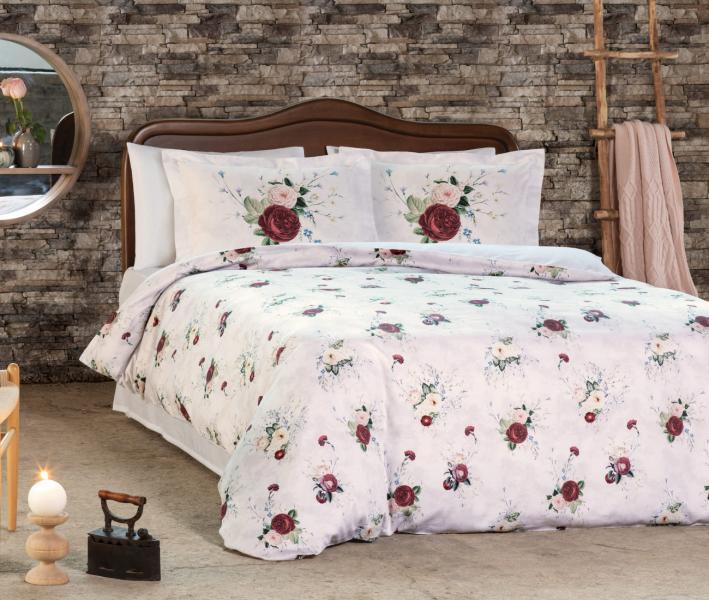 Комплект постельного белья Tivolyo Home Сатин Clement