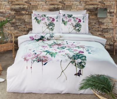 Комплект постельного белья Tivolyo Home Сатин Flamingo
