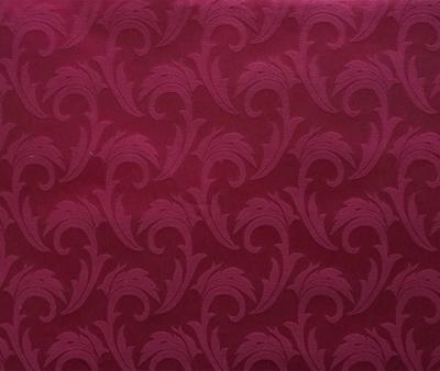 Ткань скатертная 06С26 155 см Мати Бордо