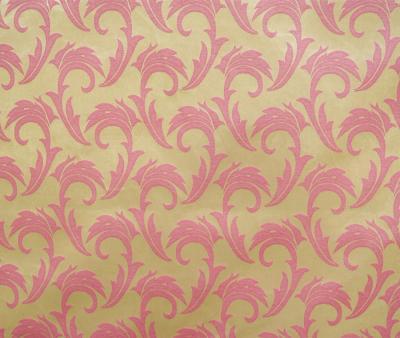 Ткань скатертная 06С26 155 см Мати Розовый Голд