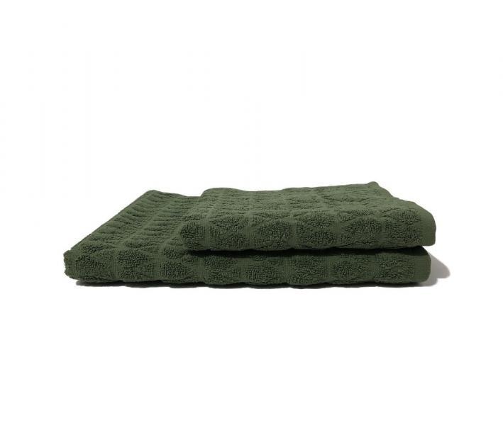 Полотенце махровое Капля Олива