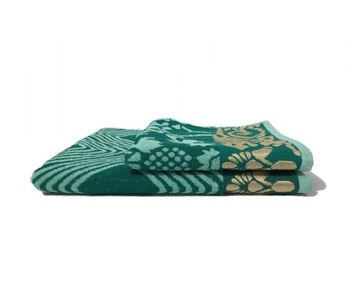 Полотенце махровое Пестроткань Зеленый