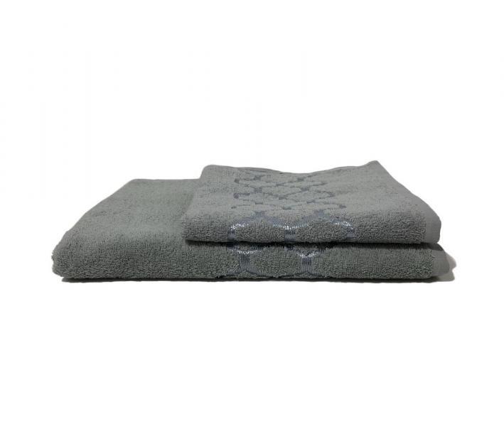 Полотенце махровое Дрезден Светло-серый
