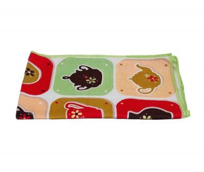 Полотенце кухонное микрофибра (45x60) Сервиз