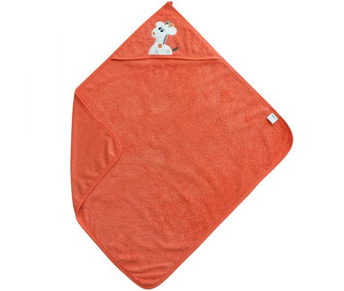 Полотенце с капюшоном Ramel Жираф Оранжевый 350