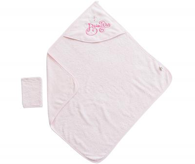 Банный набор Ramel полотенце+варежка Розовый 342
