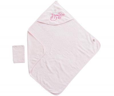Ванный набор Ramel полотенце+варежка Розовый 342