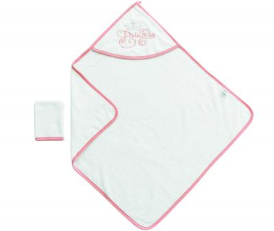 Банный набор Ramel полотенце+варежка Белый 342