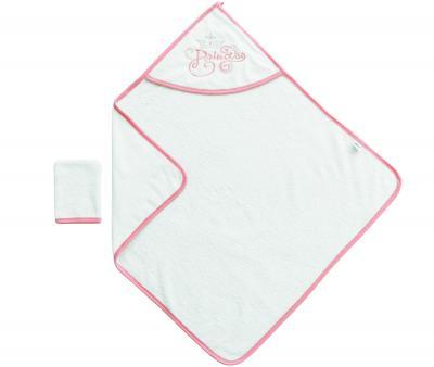 Ванный набор Ramel полотенце+варежка Белый 342