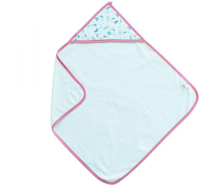 Полотенце с капюшоном Ramel 461 Черепашка Розовый