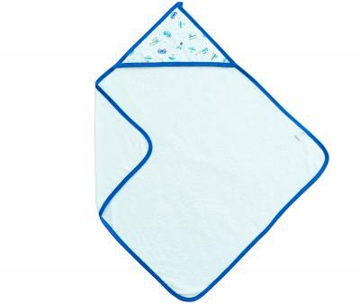 Полотенце с капюшоном Ramel 461 Машинки Синий