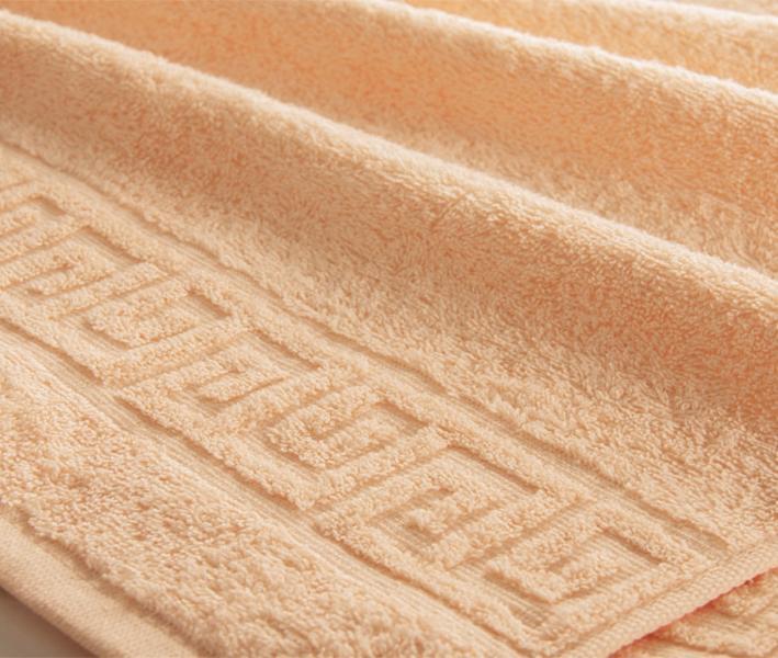 Полотенце Ашхабад с бордюром Песочный