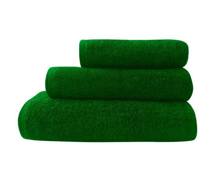 Полотенце Ашхабад без бордюра Тёмно-зелёный