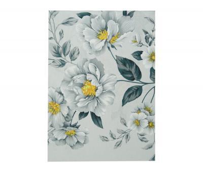 Простынь Поплин 1,5 спальная Распутившиеся цветы