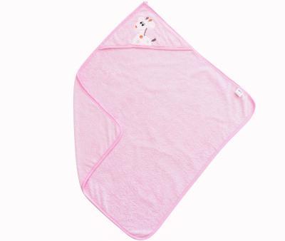 Полотенце с капюшоном Ramel Жираф Розовый 350
