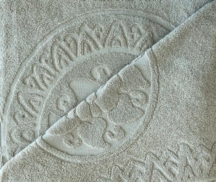 Полотенце махровое Узелочки Бежевый