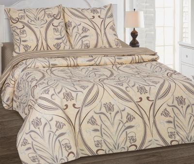 Комплект постельного белья  с простынью на резинке Арт-постель  поплин Варьете