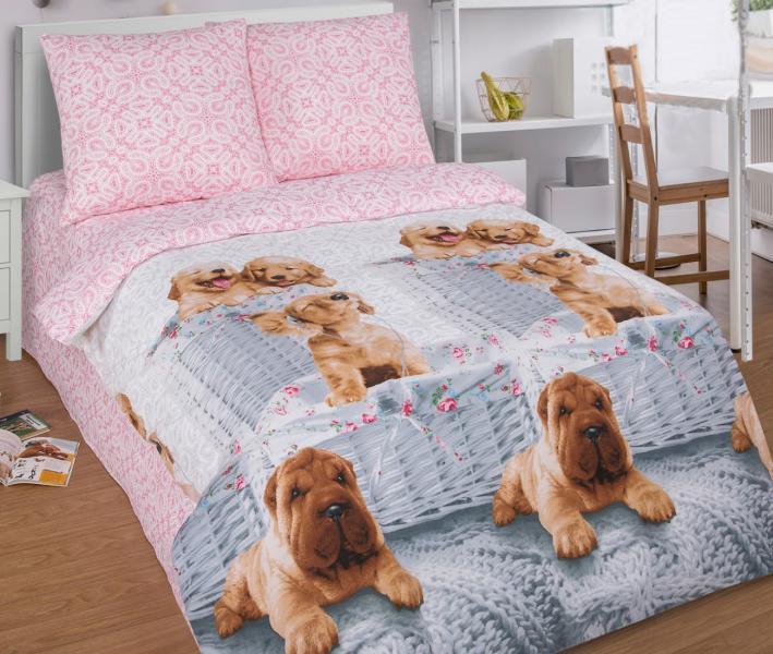 Комплект постельного белья Арт-постель 910 поплин Верный друг