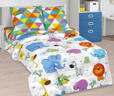 Комплект постельного белья Арт-постель 912 поплин Весёлый зоопарк