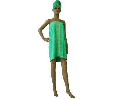 Комплект для бани и сауны Светло-зелёный