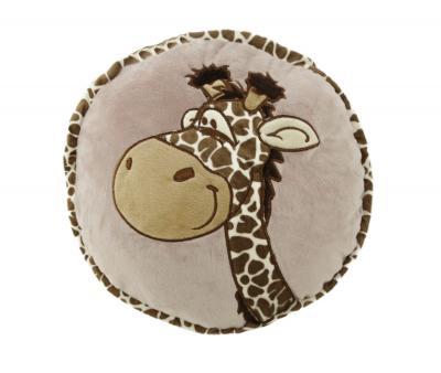 Подушка-игрушка круглая Жирафик
